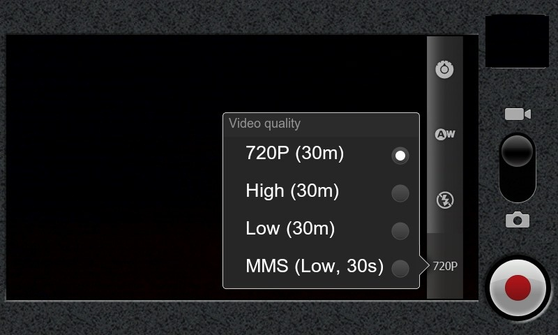 MIUI 720p Video Recorder on the Nexus One